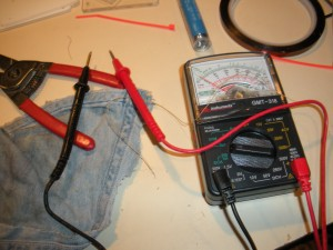 Learning to use a multimeter...