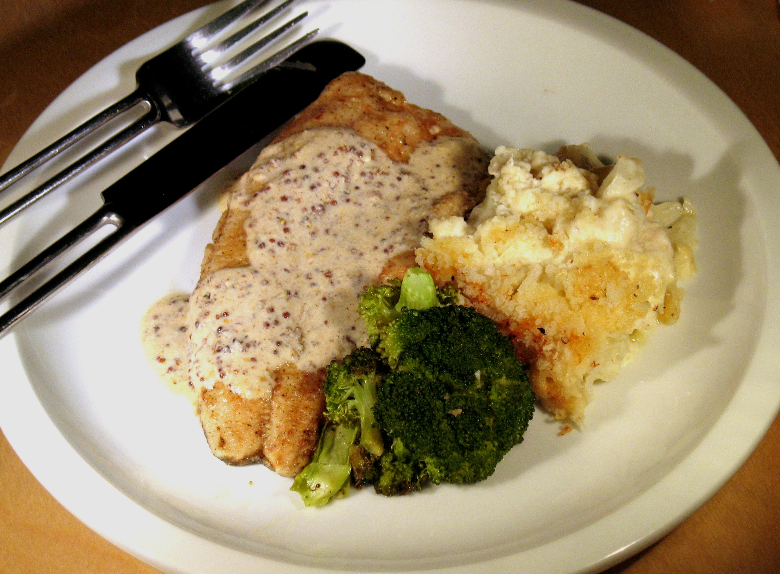 Cauliflower And Potato In Cream Sauce Recipes — Dishmaps